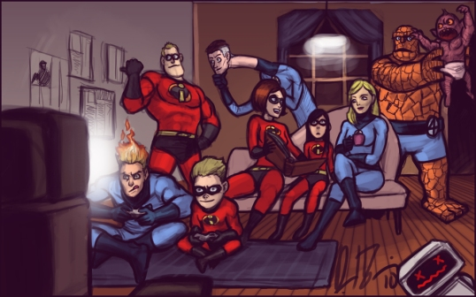 fantastic-four-and-incredibles