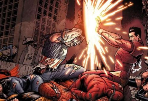 Marvel-Civil-War-Captain-America-vs-Iron-Man-590x900