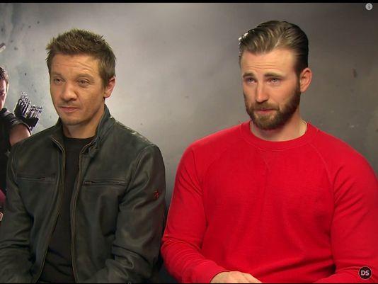 Cap and Hawkeye