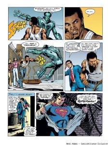 superman ali punch